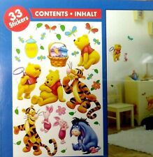 Disney Winnie the Pooh 33 x Removable Wall Stickers