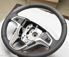 Leather Steering Wheel Light Grey Color For Hyundai Accent Solaris 2012 2016