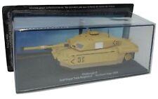 Tank De Agostini Challenger 2 Royal Rgt 1/72 Iraq 2003 Diecast