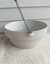 Bottom Marked Bailed Cooking Crock by Minnesota Stoneware of Red Wing