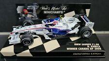 Minichamps 1:43 - Sauber BMW F1.08 - R. Kubica - Winner Canada 2008