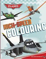 DISNEY PLANES COLOURING BOOK