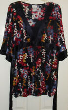 Jaclyn Smith Women's 2 Piece Skirt and Top with Ties   Sz Large