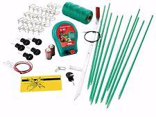 Hundezaun 70 cm + Netzgerät + Zubehör Hunde Zaun Weidezaun Elektrozaun Set