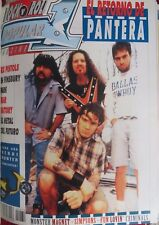 POPULAR 1 :N.274-PANTERA-SEX PISTOLS-MONSTER MAGNET-FEAR FACTORY-SIMPSONS