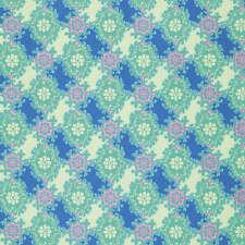 Caravelle Arcade -  Ruby in Blue - Half yard - Jennifer Paganelli - Fabrics4u2