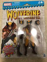 "Brown Wolverine Marvel Legends 6"" Retro Vintage X-men Avengers"