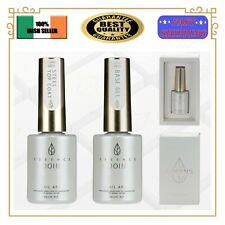 TOP COAT / BASE COAT Premium NO WIPE Soak Off Nail Gel UV LED Gel Polish 14ml EU