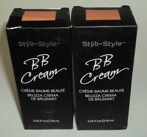 2 STYLI-STYLE BB Cream DEEP New In Box