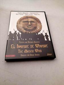 """DVD """"EL HOMBRE DE MIMBRE (THE WICKER MAN)"""" 2DVD ROBIN HARDY 2 VERSIONES CHRISTOP"""