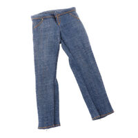 1:6 Scale Male Jeans Men's Pants for 12'' Male Soldier Figure Body Accessory