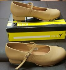 Tap Shoe S0302L Tan Mary Jane Buckle Leather Adult St Sz 9 - 9.5 Bloch Size 10M