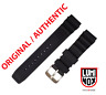 Luminox Black Rubber Original Watch Band Strap IRB 22mm 3000 3900 8400 8000 F117