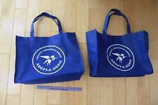 2 pegasus therapeutic riding adopt a horse reusable bag shopping grocery bags