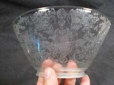 Victorian Eastlake Slant Shade GLASS GAS LAMP SHADE Oil Shade 4in Fitter c1890s