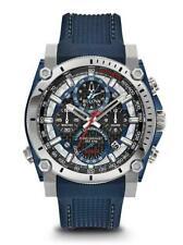 Bulova 98B315 Precisionist Chronograph Men's Quartz Watch - Blue