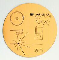 NASA Voyager Golden Record sticker - Made in Australia.