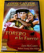 THE KID FROM SPAIN / TORERO A LA FUERZA - Eddie Cantor / Leo McCarey -Precintada