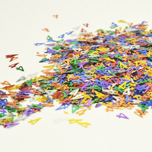 Multicolour Number Confetti Table Decoration for Birthday Party 25g