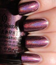 "China Glaze Nail Polish"" WHEN STARS COLLIDE ( holographic)"" Brand New & RARE!!"