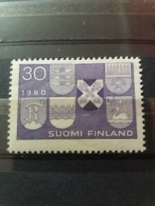 Finland Stamp 1960 Six New Towns