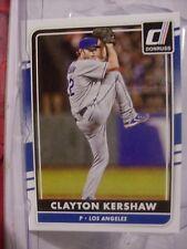 2016 Panini Donruss Baseball Card #53 Clayton Kershaw  (19696)