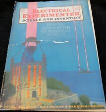 RARE!! ELECTRICAL EXPERIMENTER/SCIENCE AND INVENTION, MARCH, 1920 (# 28)