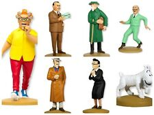 "Lot de 7 Figurines de la Collection Moulinsart Tintin ""Promotion Limitée"""