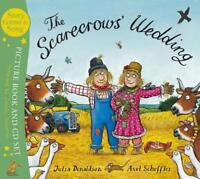 The Scarecrows' Wedding (Book & CD) by Julia Donaldson, NEW Book, FREE & Fast De