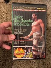 "WWF: Jake ""The Snake"" Roberts VHS, Coliseum Video, WWE, WCW,"