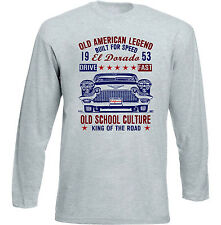 VINTAGE American Car CADILLAC El Dorado-nuovi cotone T-shirt