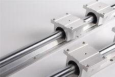 Quality 1pcs TBR25-1500MM  Support Linear Rail + 4 TBR25UU Bearing Blocks