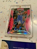 2019 NBA Pelicans Zion Williamson Panini Prizm Draft Picks Pink #64 Rookie Card