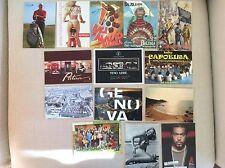 14 CARTOLINE VARIE CARABINIERI SPORT PUBBLICITA' TELEVISIONE DONNE RAPPER MUSICA