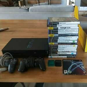 PS2 Sony PlayStation 2 Bundle 17 Games