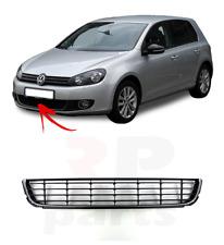 FOR VW GOLF MK6 HIGHLINE 08 - 13 FRONT BUMPER LOWER CENTER GRILLE 5K0853671RYP