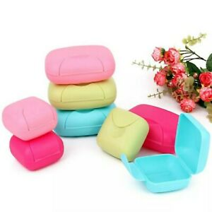 Soap box travel soap Case  Container Wash Shower Home Bathroom Camping  Soap