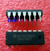 5pcs IC MC14073BCP DIP14 MOTOROLA   NEW GOOG QUALITY