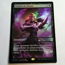 Magic The Gathering MTG War Of The Spark Open House Foil Liliana/'s Triumph x4 NM