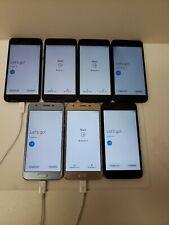 Lot Of Seven! Samsung Galaxy J3 Sm-J337- 16Gb - (Unlocked) Smartphone