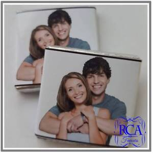 Personalised Wedding Day Milk Chocolate Neapolitan Your Photo Design Favours