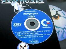 ~ PSYGNOSIS Original DEMO CD by SONOPRESS + INFO DISC 2 ~ Commodore CDTV Amiga
