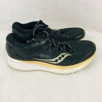 Saucony Womens Ride ISO 2 Running Shoes Black S10514-2 Lace Up Low Top 8 M