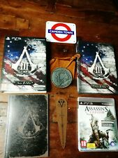 🎮Assassin'S Creed Iii Join Or Die Deluxe Edition Ps3 Italiana Perfetta Completa