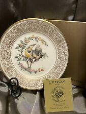 1973 Lenox Collectible Plate The Meadowlark E.M. Boehm Bird Series Limited