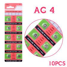 10 Pieces 1.55V SR626SW 377 V377 177 L626 AG4 SR66 Button Coin Cell Battery