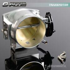 92mm  GM Gen Iii Ls1 Ls2 Ls6 Throttle Body Ls3 Ls Ls7 Sx Ls 4 Bolt Cable Silver