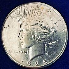 1925-S Peace Silver Dollar Ch BU