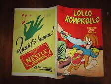 WALT DISNEY ALBO D'ORO  N°347 LOLLO ROMPICOLLO DEL 11-10-1952