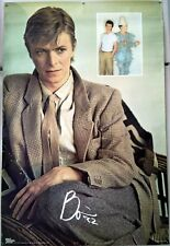 David Bowie SCARY MONSTERS Poster - Ultra-rare VINTAGE 1982 from England